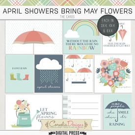 APRIL SHOWERS BRING MAY FLOWERS | POCKET CARDS