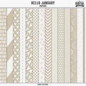 Hello January - Papers