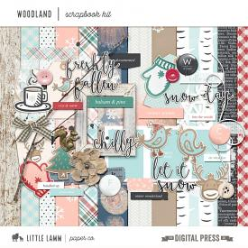 Woodland | Scrapbook Kit