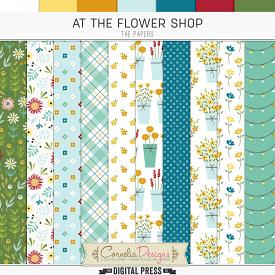 AT THE FLOWER SHOP | PAPERS