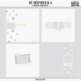 Be Inspired N.4 | Layered Templates