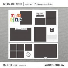 Twenty-Four Seven | Photoshop Templates Vol 1