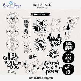 Live Love Bark | Stamps