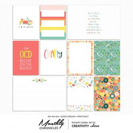 Monthly Chronicles | Creativity PocketCards 01