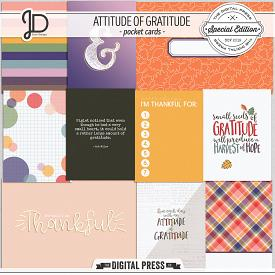 Attitude of Gratitude | Pocket Cards