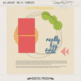 All Laid Out - Vol 12 | Template
