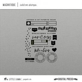 Magnifique | Add On Stamp Set