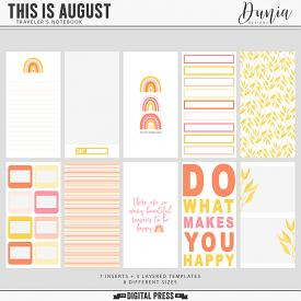 This is August | Traveler's Notebook