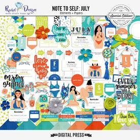 Note To Self July | Kit