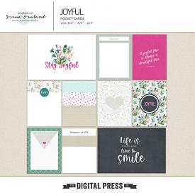 Joyful -  journaling cards