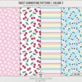 Sweet Summertime Patterns | Volume 2 (CU)