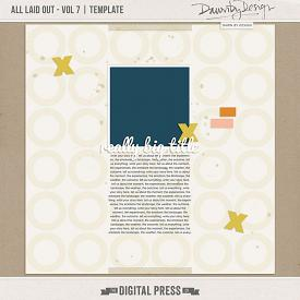 All Laid Out - Vol 7 | Template