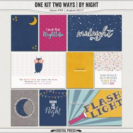One Kit Two Ways | By Night Pocket Cards