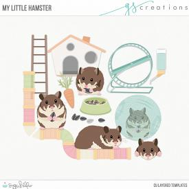 My Little Hamster Layered Templates (CU)