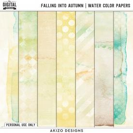 Falling Into Autumn | Water Color Papers