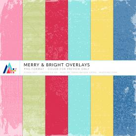 Merry & Bright Overlays (CU)