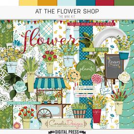 AT THE FLOWER SHOP | KIT