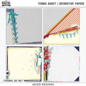 Tennis Addict | Decorative Papers