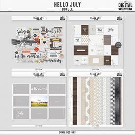 Hello July - Bundle