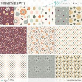 Autumn Smiles Layered Patterns (CU)