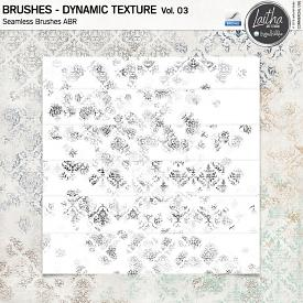 Dynamic Texture Brushes Vol. 03 (CU)