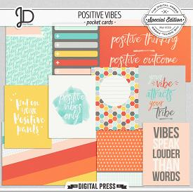 Positive Vibes | Pocket Cards