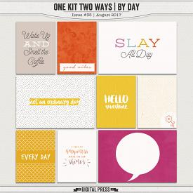 One Kit Two Ways | By Day Pocket Cards