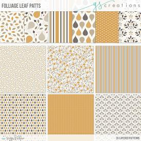 Folliage Leaf Layered Patterns (CU)