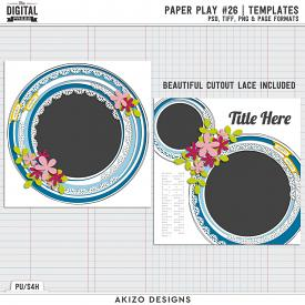 Paper Play 26 | Templates
