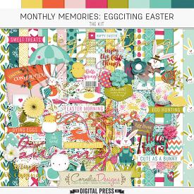 MONTHLY MEMORIES: EGGCITING EASTER| KIT