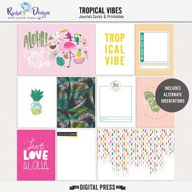 Tropical Vibes | Pocket Cards