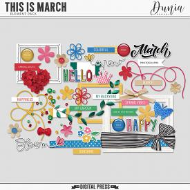 This is March | Elements