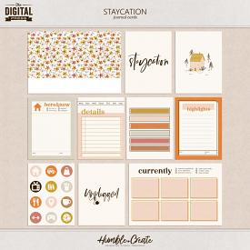 Staycation | Journal Cards