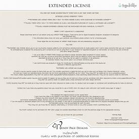 Wendy Page Extended License (CU)