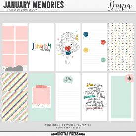 January Memories | Traveler's Notebook