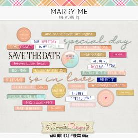 MARRY ME | WORDBITS
