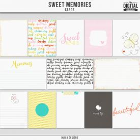 Sweet Memories - Cards