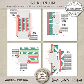 Real plum | Templates