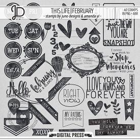 This Life | February - Stamps