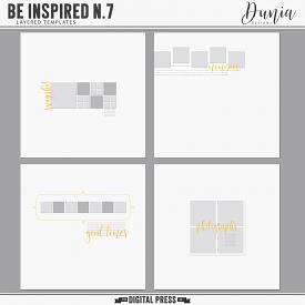 Be Inspired N.7 | Layered Templates
