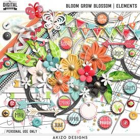 Bloom Grow Blossom | Elements
