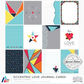 Eccentric Love Journal Cards