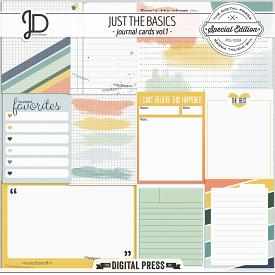 Just The Basics | Journal Cards Vol.1