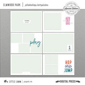 Elmwood Park│Photoshop Templates