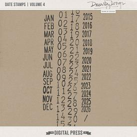 Date Stamps | Volume 4