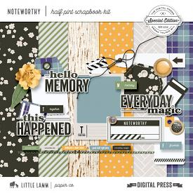 Noteworthy | Half Pint Scrapbook Kit