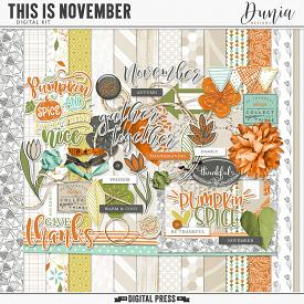 This is November | Kit