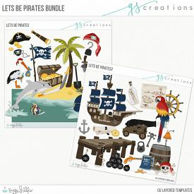 Let's Be Pirates Template Bundle (CU)
