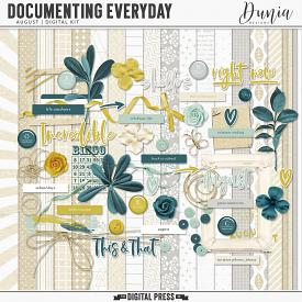 Documenting Everyday | August - Kit