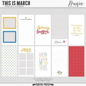 This is March | Traveler's Notebook